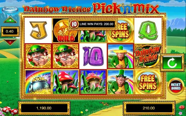 How to win big in Rainbow Riches Pick N Mix