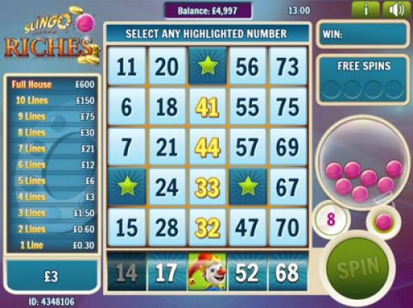 Why should you play Slingo Riches