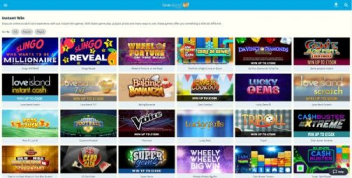 Jackpots and Instant Win Games