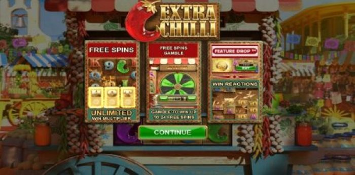 Extra chilli slot game from BTG