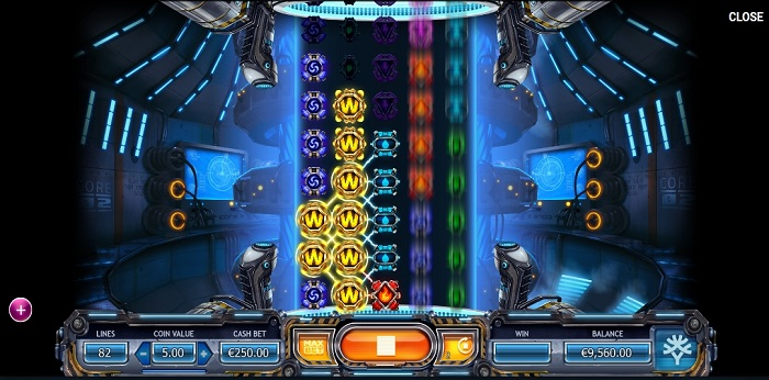 Power Plant online slot game wilds