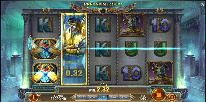 Rise of Dead online slot another game win