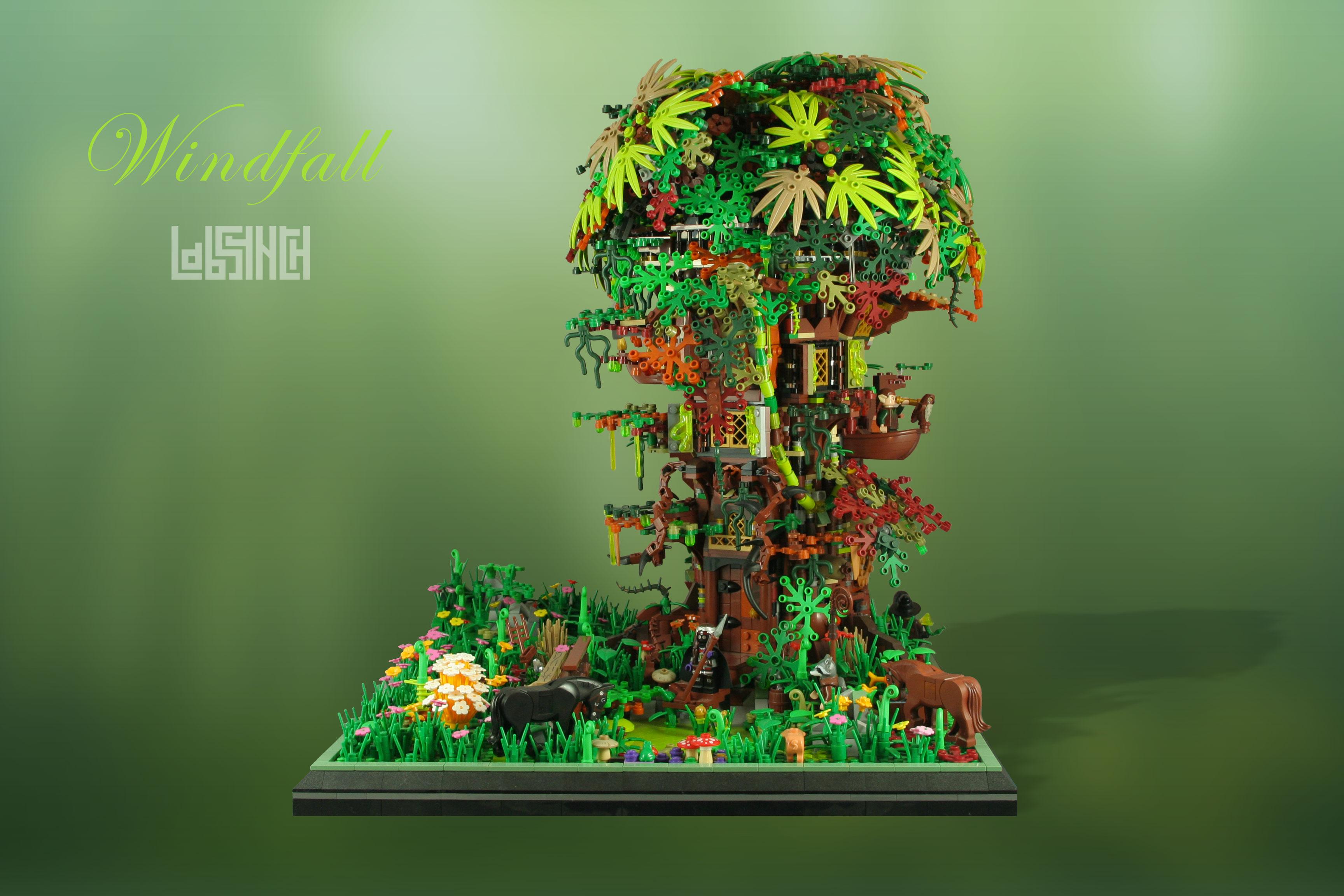 Windfall LEGO MOC Labsynth