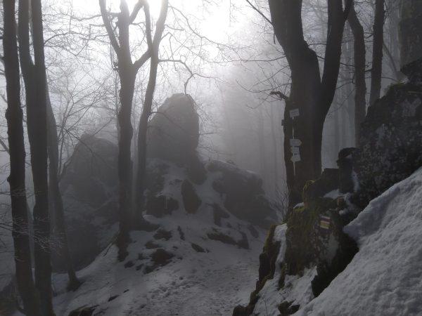 Skalna brama na Rogowcu