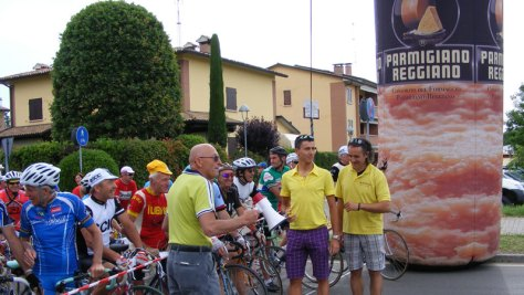 Parmigiano reggiano y el deporte