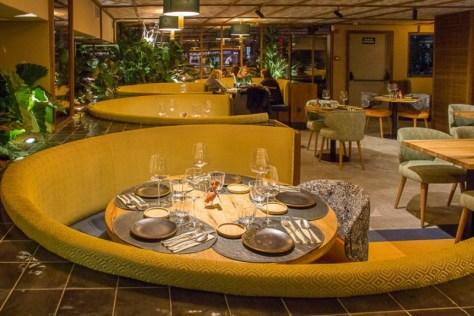 Sofás restaurante Papúa