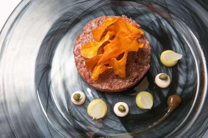 Steak tartar Castillo de Bonavia