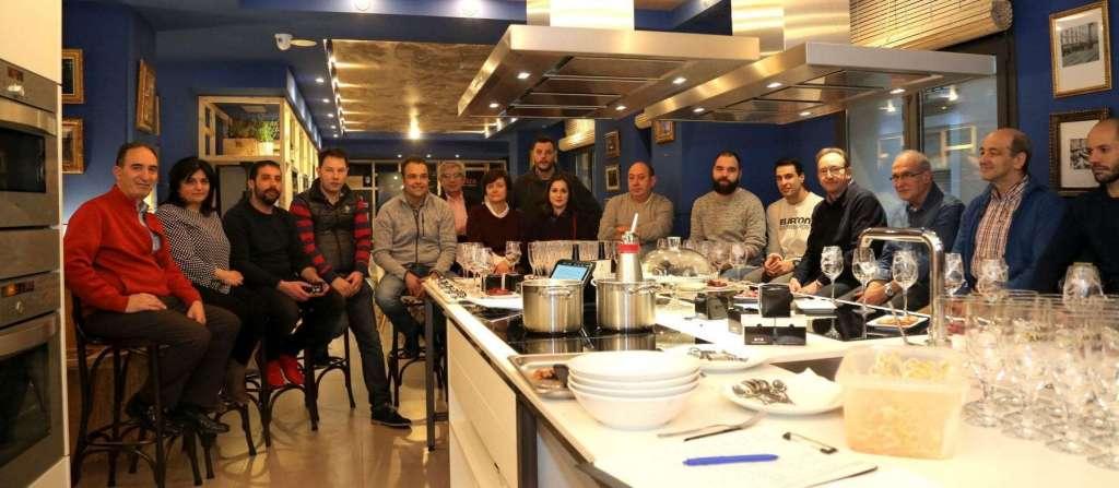Cocineros aragoneses en La Gastroteca de Cinegia (1)