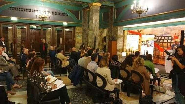 presentacion del festival de las piedras en el teatro principal de zaragoza 1