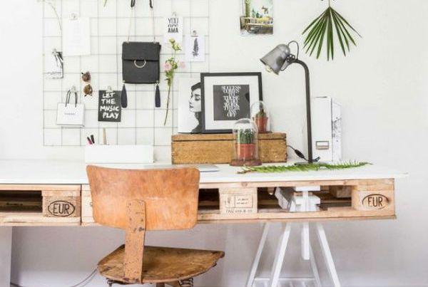 0 - cosas hacer palets - mesa escritorio