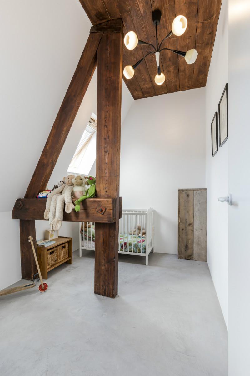 10 - Loft industrial en Amsterdam - dormitorio infantil