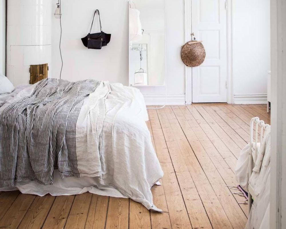 5 - claves dormitorio nordico - suelo madera