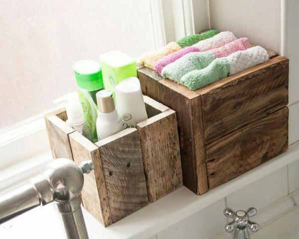 6 - cosas hacer palets - cajitas baño