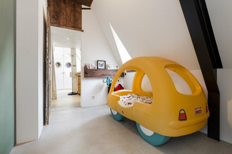 9 - Loft industrial en Amsterdam - dormitorio infantil