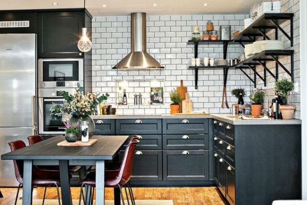 Mesas de comedor en la cocina si o no la buhardilla - Cocina comedor en l ...