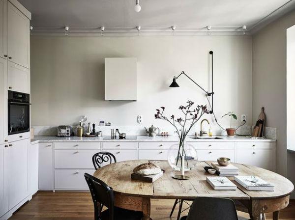 7 - mesas de comedor en la cocina