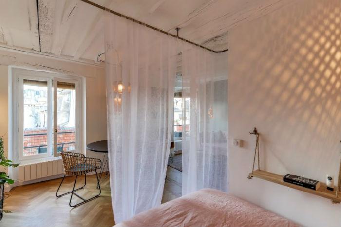 5 - Estudio bohemio paris - dormitorio