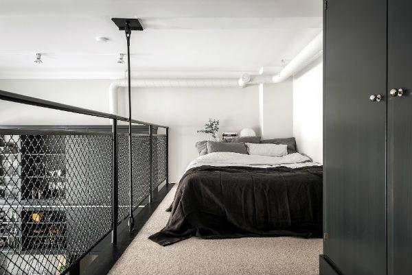 15 - Diseño masculino para un loft nordico