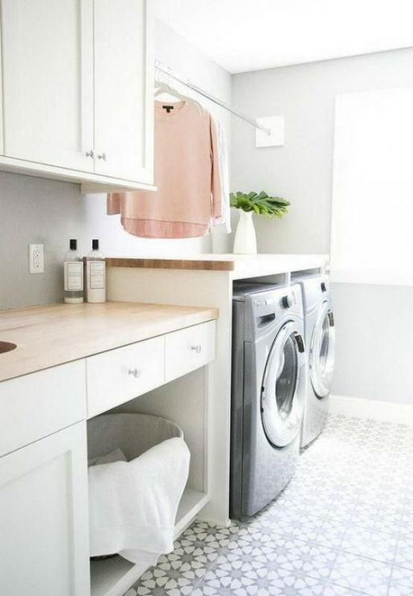 Inspiracion para tener un lavadero bonito