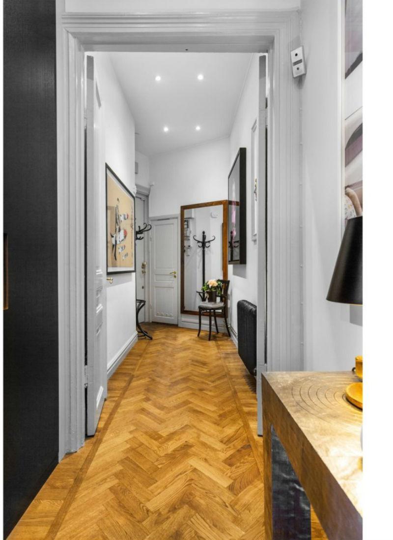 Mucho color para este apartamento de estilo nordico