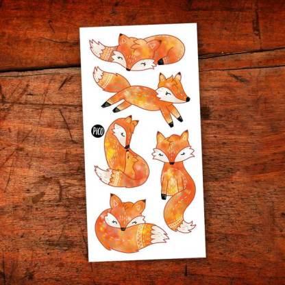 pico tatoo renards roux