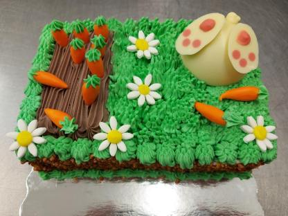 gâteau de pâques lapin pâtisserie le far québec