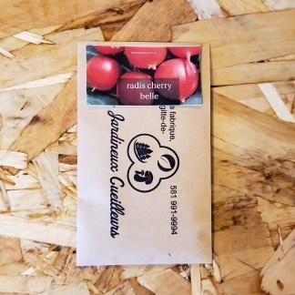 semences radis cherry belle jardineux cueilleurs québec