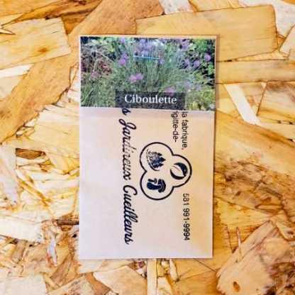 semis ciboulette jardineux cueilleurs québec