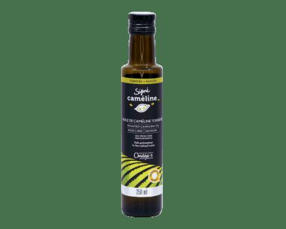 huile de caméline torréfiée olimega