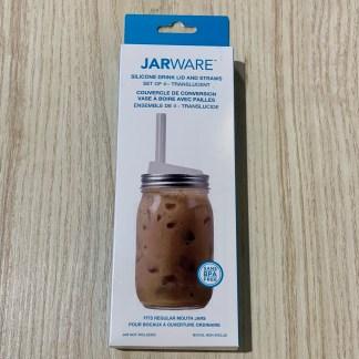 jarware couvercle et pailles