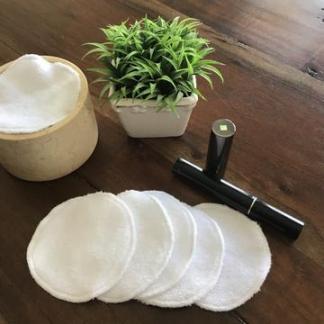 kimo-0-déchet tampons démaquillant bambou paquet de 5