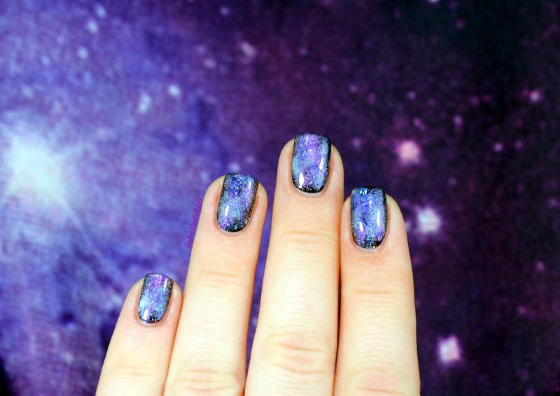 [Galaxy Nails] Vers l'infini et au delàaaa