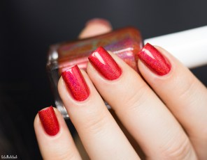 GLAM POLISH-NO LEI'S OVERS-HIBISCUS HIDEAWAY_9