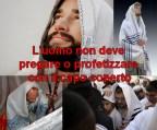 Jewish man wearing a prayer shawl