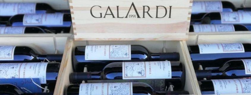Galardi, l'azienda che produce i vini di 'Terra di Lavoro'