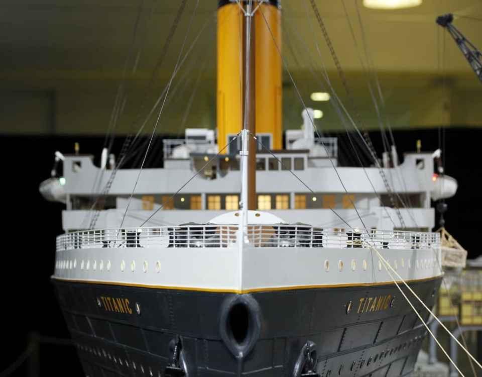 Exposicion Titanic the reconstruction palacio euskalduna 2017