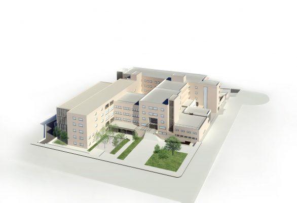 La Bustia Hospital de Martorell Render ampliacio