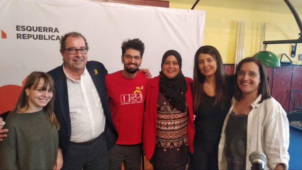 La Bustia Puche Vilardosa Driouech Belghanou i joves ERC Esparreguera
