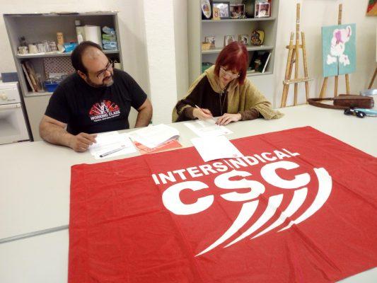labustia intersindical CSC