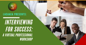 Interviewing for Success: A Virtual Profession Workshop
