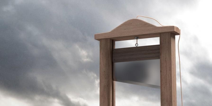 La guillotina se estuvo empleando en Francia hasta 1977