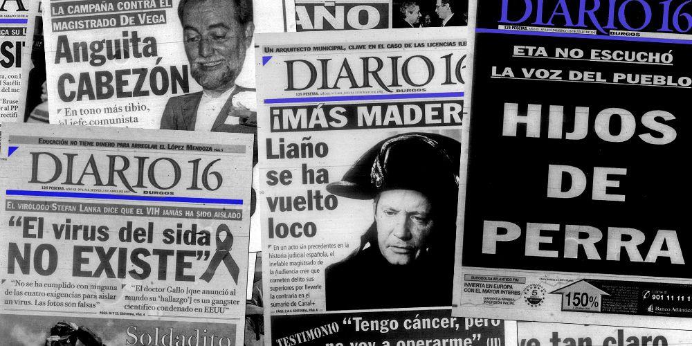 La época amarillista de Diario 16