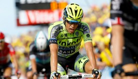 Contador usó a su equipo para empezar a meter diferencia con sus rivales.