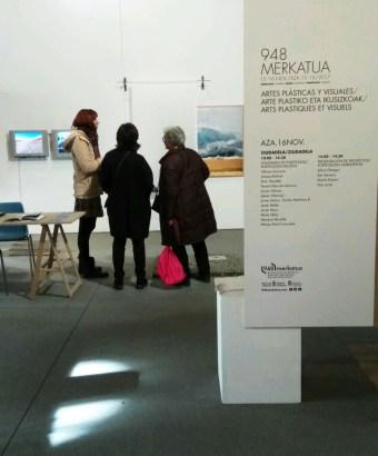 Artes plásticas y visuales en 948 Merkatua