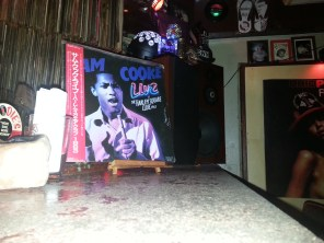 At Chocolate Milk I asked to listen to Sam Cooke and this is the vinyl that Hiro selected.