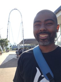 All smiles after this awesome ride, Zaturn! (August 2015)