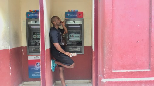 I was able to withdraw money from the local ATM. This is impossible for Americans. I, however, am not your average American and I have debit and credit cards issued outside America. American cards are not accepted in Cuba.