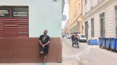 Cuba Street and a Cigar