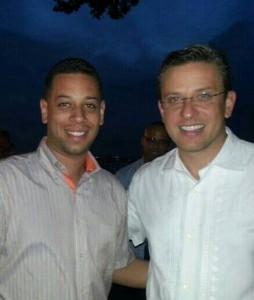 Darwin Conde Camacho, también fue parte de la avanzada del gobernador Alejandro Garcia Padilla. (Foto Facebook)
