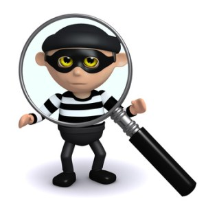 3d Burglar is being scrutinised